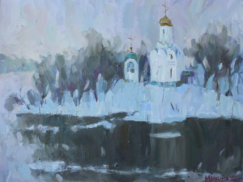 Winter On The Monastery Island