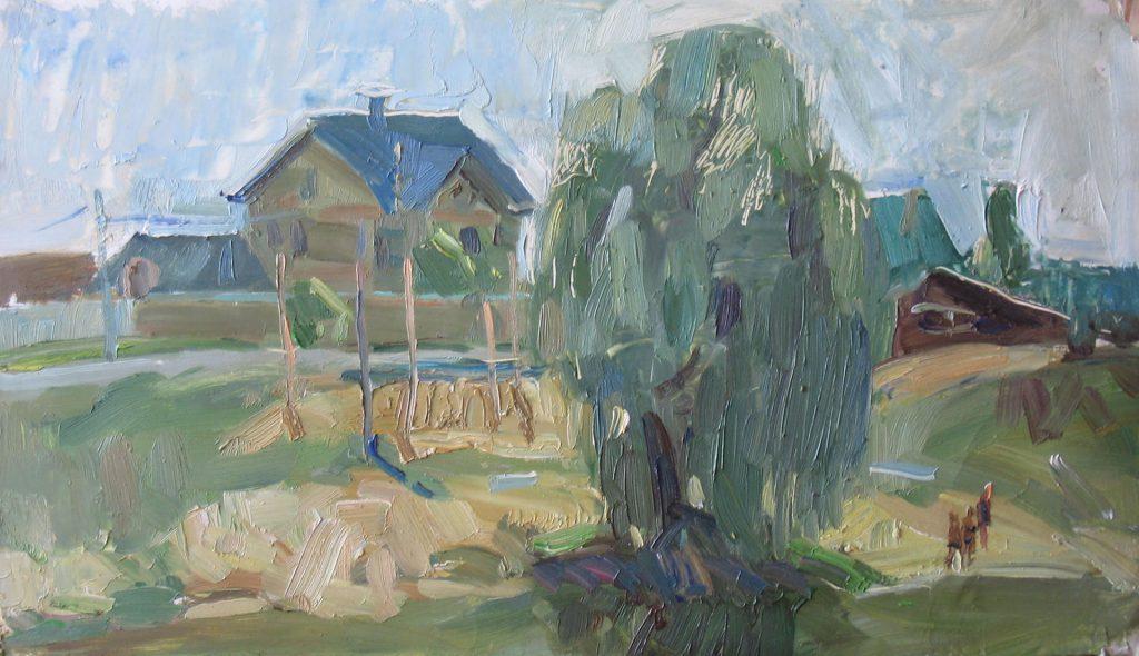 Olkhovka village