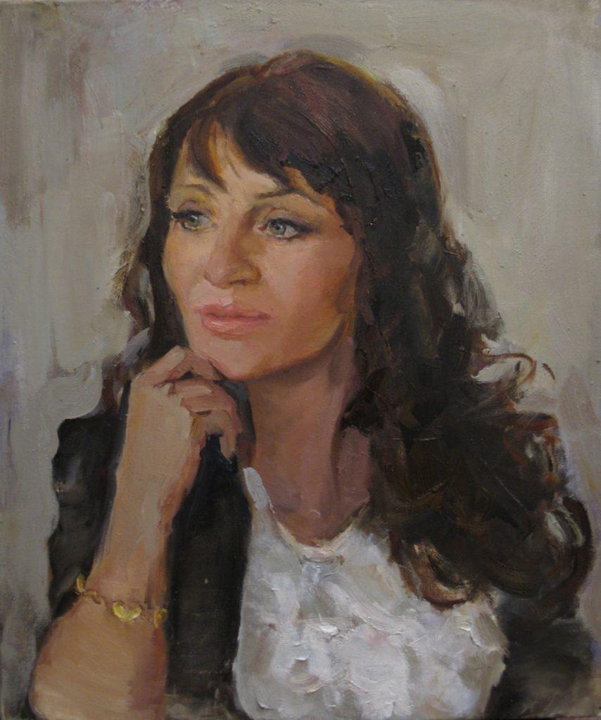 Портрет деловой женщины (Инна Гришина)