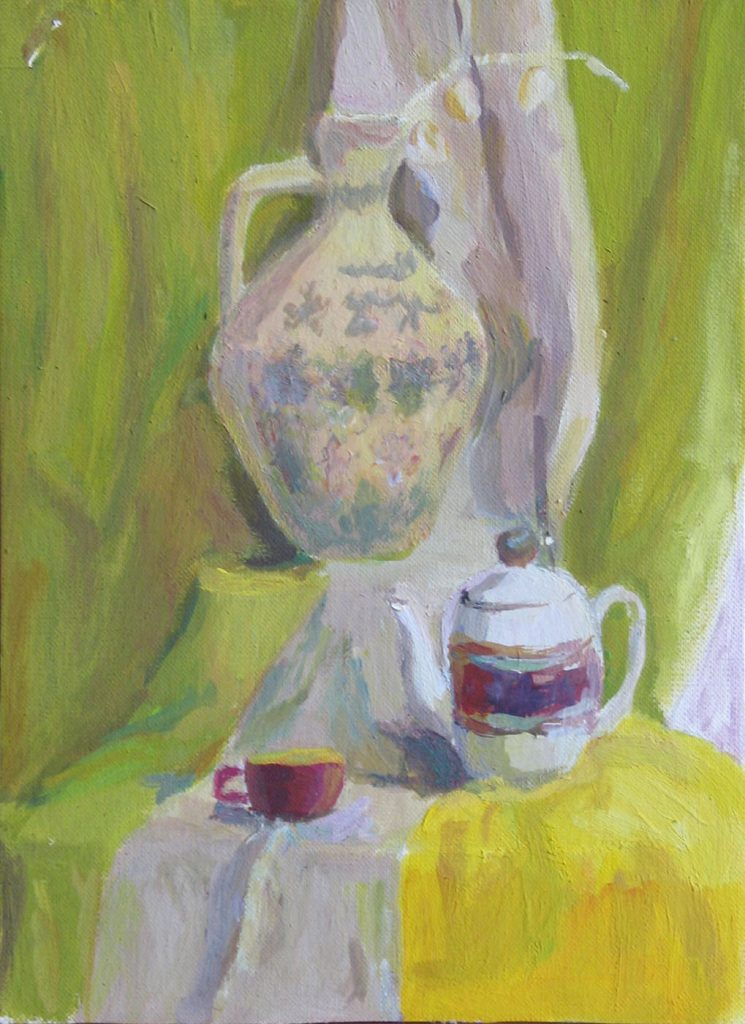 Etude to still life 1