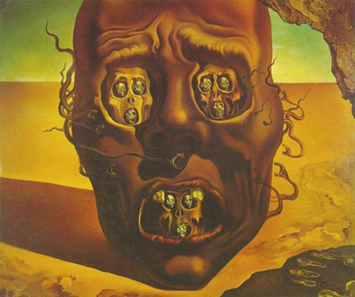 Salvador Dali The Face Of War